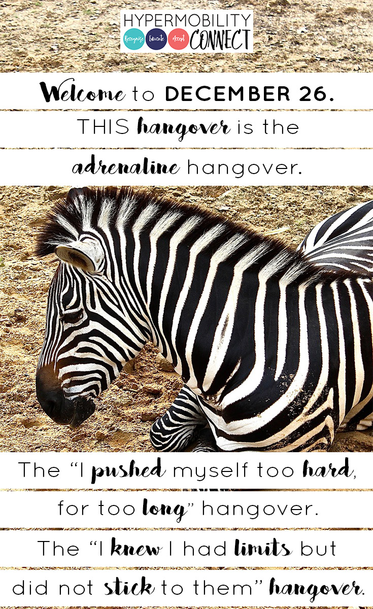 The Hangover, Hypermobility Style | Hypermobility Connect