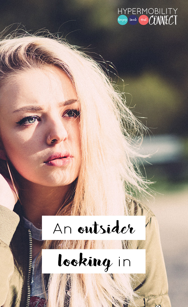 hEDS life: An outsider looking in | Hypermobility Connect