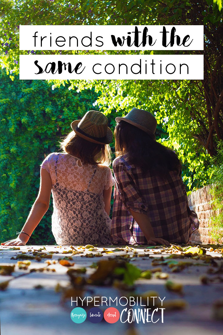 Friends with the same condition | Hypermobility Connect