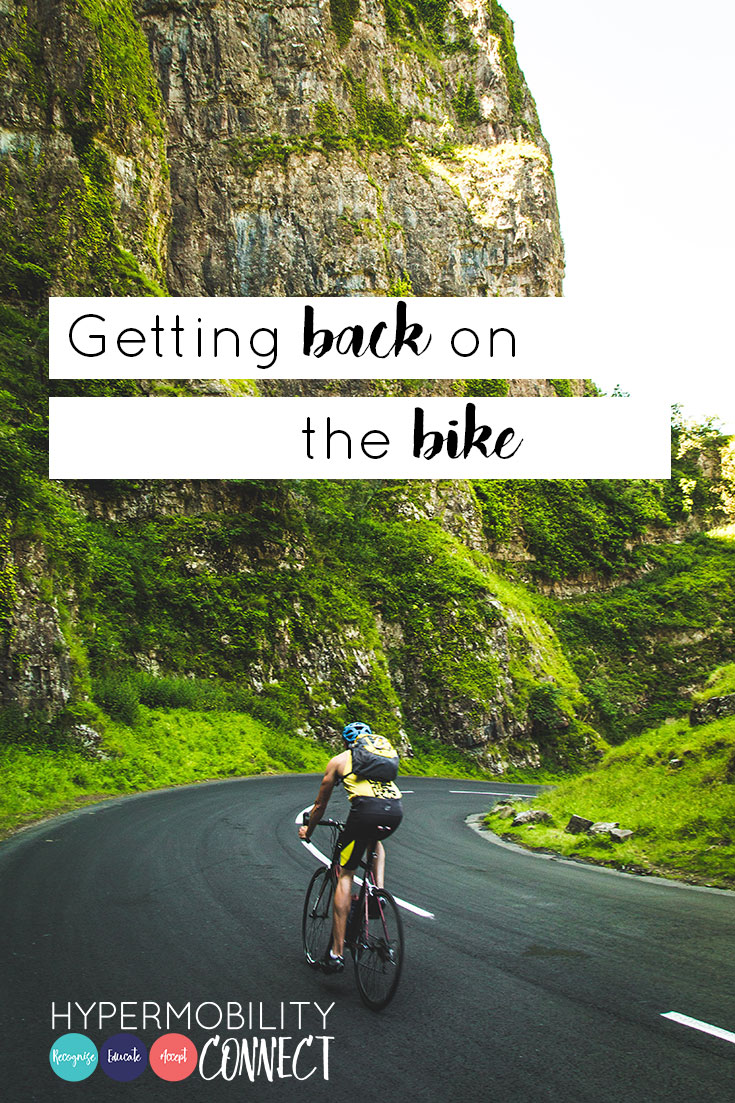 Getting back on the bike | Hypermobility Connect