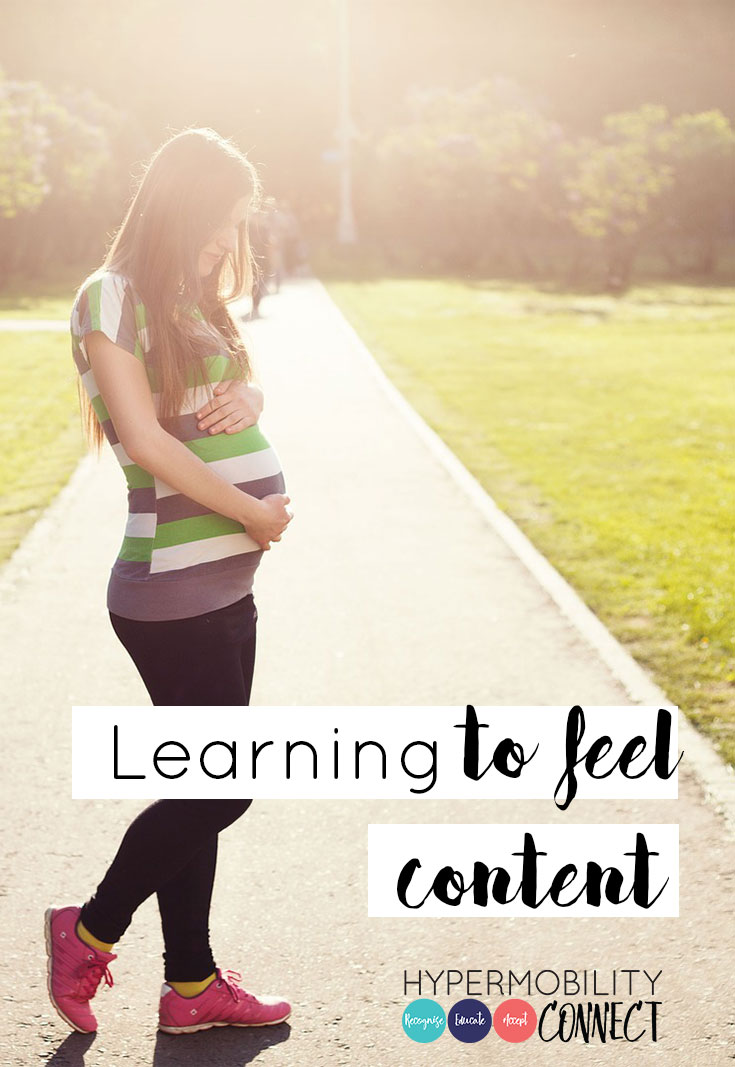 Learning to feel content | Hypermobility Connect