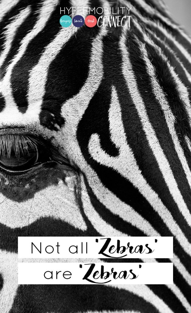 Not all 'zebras' are 'zebras' | Hypermobility Connect
