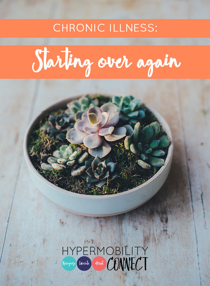 Chronic Illness: Starting over again | Hypermobility Connect