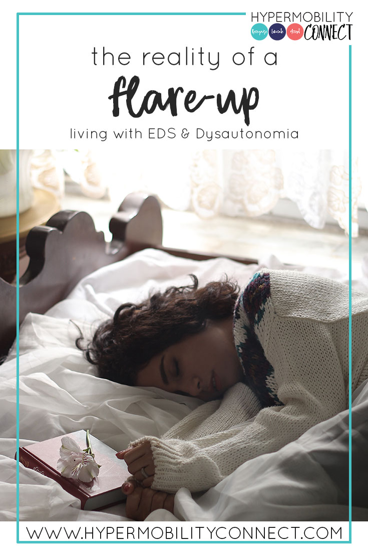 The reality of a flare-up: Living with EDS & Dysautonomia | Hypermobility Connect