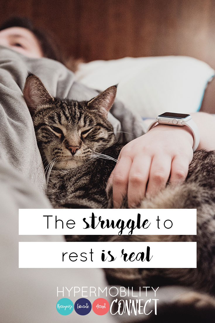 The struggle to rest is real   Hypermobility Connect