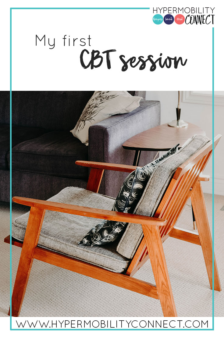 My first CBT session | Hypermobility Connect